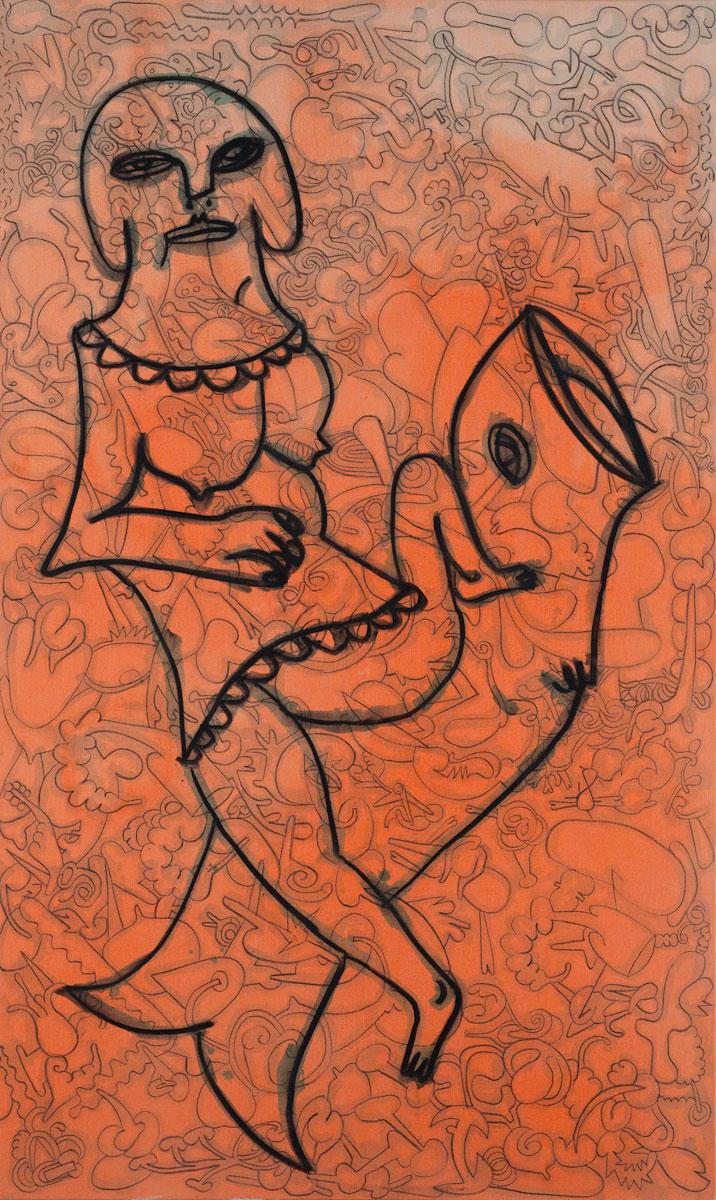 Walter Brusius, Erotische Nixe