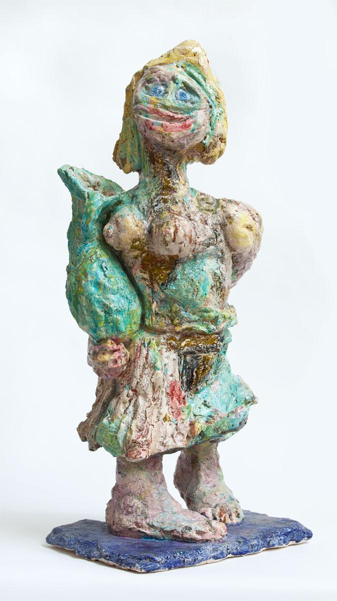 Jean Y. Klein, Pandora, 2010, 84 x 41 x 27 cm